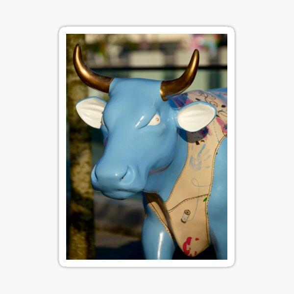 Cow Parade - Shirt Factory Horn, Derry Sticker