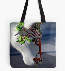 Cow with tree, Ebrington, Derry Tote Bag