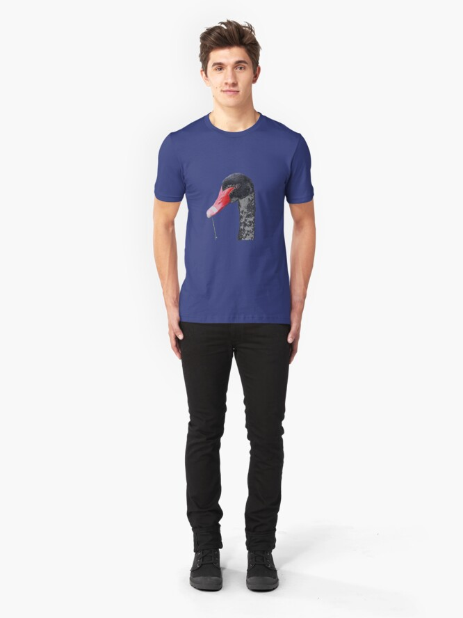 Alternate view of Black Swan Slim Fit T-Shirt
