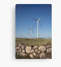 Carnsore Point Wind Farm Canvas Print