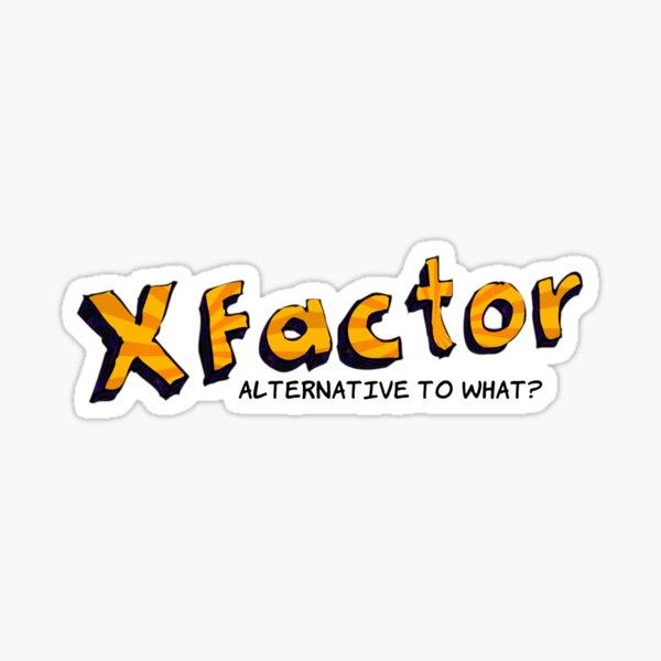 X Factor Block Sticker