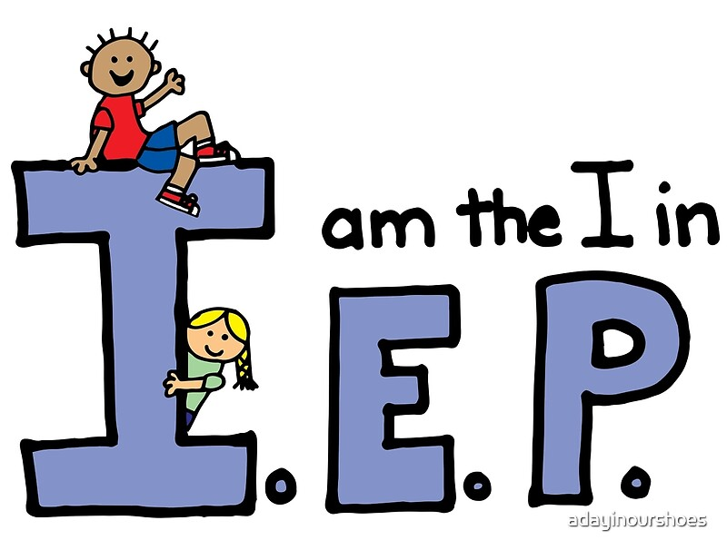 Quot I Am The I In Iep Quot Posters By Adayinourshoes Redbubble