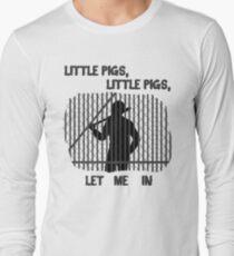 The Walking Dead Little Pigs Negan Long Sleeve T-Shirt