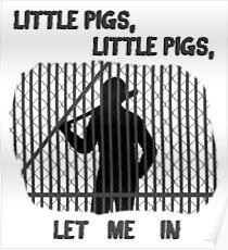 The Walking Dead Little Pigs Negan Poster