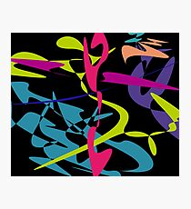 Curved tangram Photographic Print