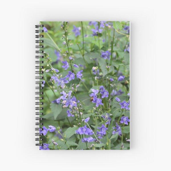 Tall Bellflower Spiral Notebook