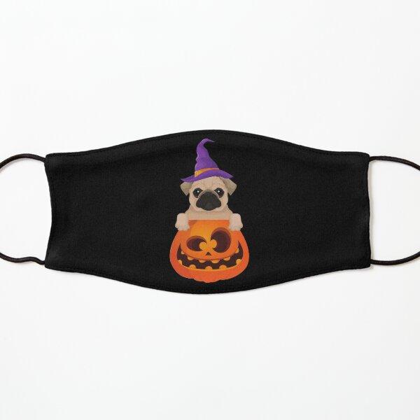 Halloween Pug Cute Pugking Kids Mask