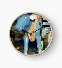 Cow Parade - Shirt Factory Horn, Derry Clock