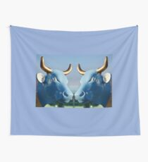 Cow Parade - Shirt Factory Horn, Derry Wall Tapestry