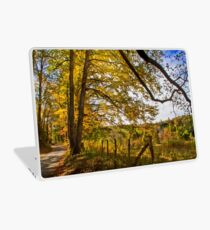 Down a Country Road Laptop Skin