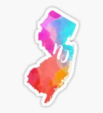 colorful NJ~~~ Sticker