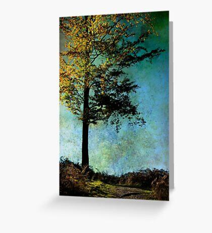 One Tree Greeting Card