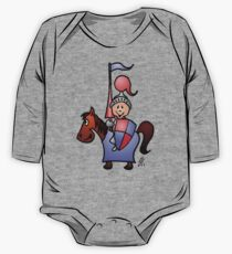 Medieval knight in shining armour One Piece - Long Sleeve
