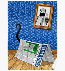The Mystery of the Invisible Cat  Poster