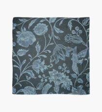 Blue Vintage Floral Scarf