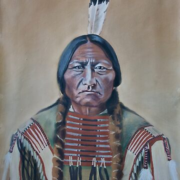 Sitting Bull by itchingink