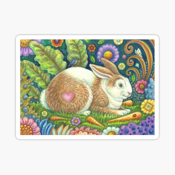 MIDSUMMER HARE Sticker