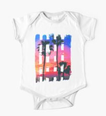 Tropical Beach Brush Strokes Kids Clothes