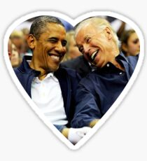 joe biden and barack Sticker