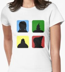 Windows of Oz Womens Fitted T-Shirt