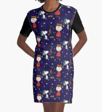 A Charlie Brown Christmas Graphic T-Shirt Dress