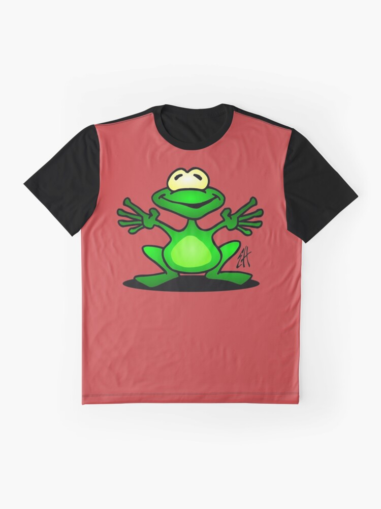 Alternate view of Frog Graphic T-Shirt