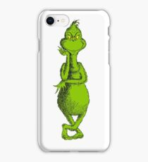 THE GRINCH STOLE CHRISTMAS GAGAK 8 iPhone Case/Skin