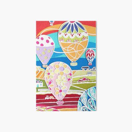 Balloon fiesta Art Board Print