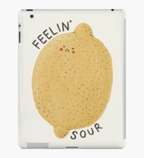 feelin' sour iPad Case/Skin