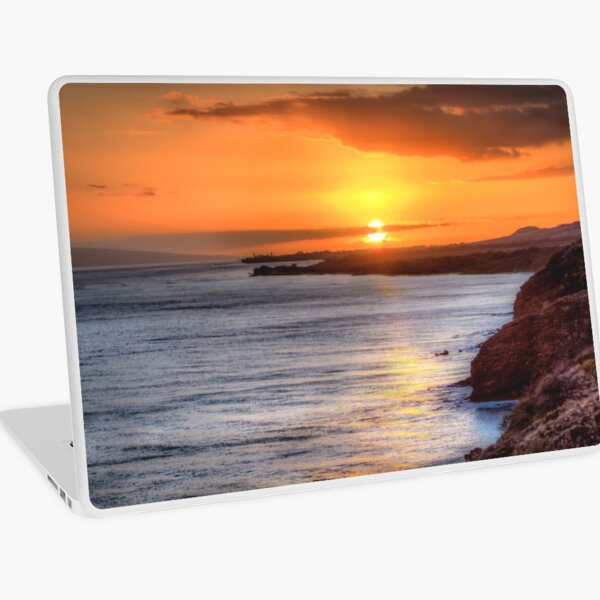 Maui Sunset 6/8/12 Laptop Skin