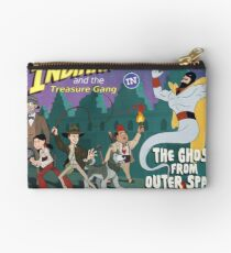 Indiana and the Treasure Gang in The Ghost From Outer Space Studio Pouch