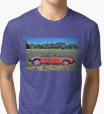 MG B Roadster Tri-blend T-Shirt