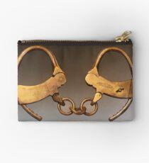 Vintage Handcuffs Studio Pouch