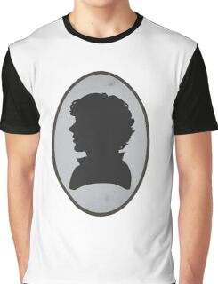 Sherlock Portrait Graphic T-Shirt