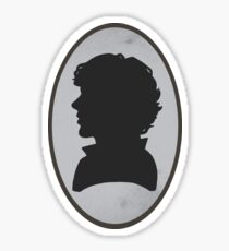 Sherlock Portrait Sticker