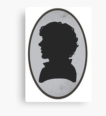 Sherlock Portrait Canvas Print
