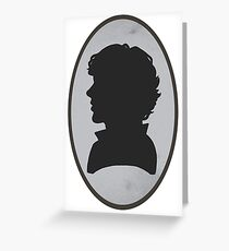 Sherlock Portrait Greeting Card