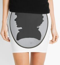 Sherlock Portrait Mini Skirt