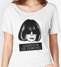 Wintour Is Coming Relaxed Fit T-Shirt