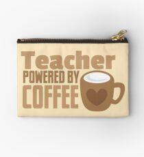 Teacher powered by coffee Studio Pouch