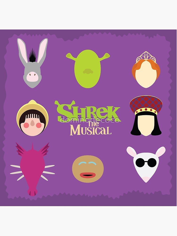 Shrek el musical de dominodecoco