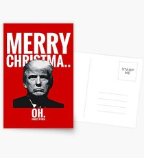 Merry Christma... Oh. Forget it then. Postcards