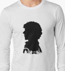 Sherlock Portrait Long Sleeve T-Shirt