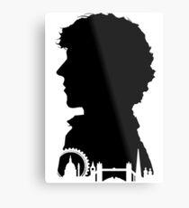 Sherlock Portrait Metal Print