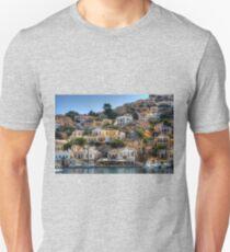 Yachts in Symi Unisex T-Shirt