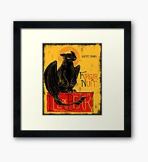 Fury of the Night - Vintage Edition Framed Print