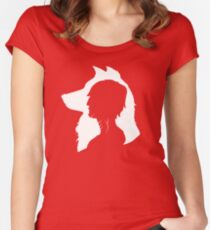 Little Wolf Women's Fitted Scoop T-Shirt