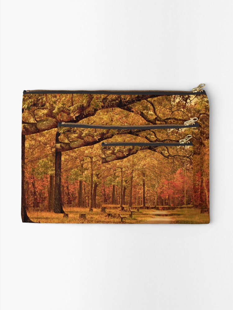 Alternate view of Amber Afternoon Zipper Pouch