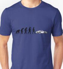 Evolution of Man - Audi R8/R10 Unisex T-Shirt