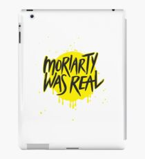Moriarty Was Real. iPad Case/Skin